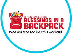 Blessings in a Backpack Effingham IL Logo